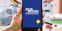 Illustration application moncompteformation