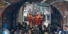 Inde: l'incendie d'une usine de new delhi fait au moins 32 morts
