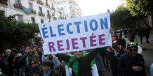 Algérie, élection, contestation, présidentielle