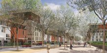 La future ZAC de la Restanque, à Montpellier, recalibrée et verdie par le maire Philippe Saurel