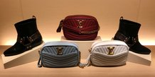 Produits Louis Vuitton dans un magasin de New York