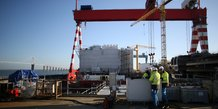 La commission tranchera fin avril sur le rachat des chantiers de l'atlantique par fincantieri