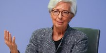 Coronavirus: lagarde presse l'ue d'agir plus resolument