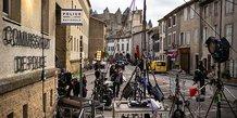 Tournage du film Selon la police en Occitanie