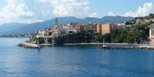 La citadelle génoise de Bastia