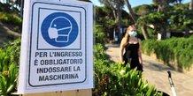 Coronavirus: baisse du nombre de nouveaux deces en italie