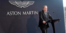 Automobile : Andy Palmer, ancien PDG Aston Martin Lagonda