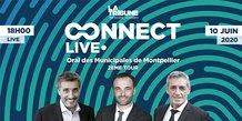 Connect Live Montpellier, débat élections municipales - 10 juin 2020