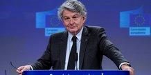 Thierry breton veut faire accelerer l'europe spatiale