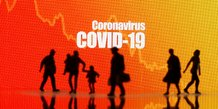 Illustration coronavirus, Covid-19