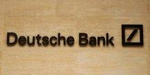Usa: deutsche bank paiera 150 millions de dollars pour clore des dossiers lies entre autres a epstein
