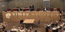 Franck Proust est élu à la présidence du Conseil d'agglomération de Nîmes Métropole