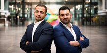 Walid Behar et Amine Bounoughaz