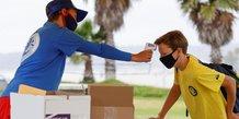 La californie rend le port du masque obligatoire hors de son domicile