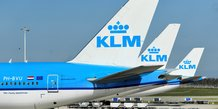 Klm, filiale d'air france-klm, va supprimer 1.100 postes