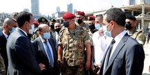 Beyrouth en etat de choc, le bilan de l'explosion depasse 100 morts