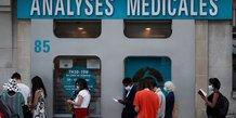 Coronavirus: le gouvernement francais critique pour sa politique de tests