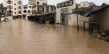 Le senegal active une aide d'urgence apres d'importantes inondations