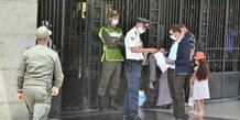 maroc rabat coronavirus police controle