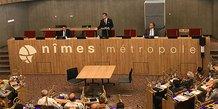 Conseil d'agglomération de Nîmes Métrople, le 21 sept 2020