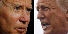 États-Unis : l'ancien vice-président démocrate Joe Biden et le président républicain Donald Trump