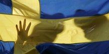 Suède, flag