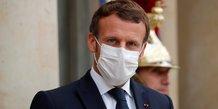 Macron appelle a l'unite face aux tensions avec le moyen-orient