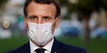 Coronaviru: macron annoncera mercredi des mesures difficiles