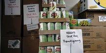 Aide alimentaire aux Etats-Unis