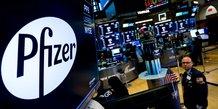 Pfizer Bourse