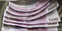 DÉFICIT DE 5 MILLIARDS D'EUROS EN JANVIER POUR LES COMPTES COURANTS