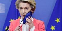 Ursula von der leyen, qui a rencontre macron, n'a pas l'intention de s'isoler