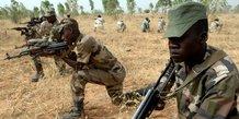armee niger soldats