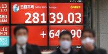 Nikkei, Tokyo, Bourse, plus-haut de trente ans