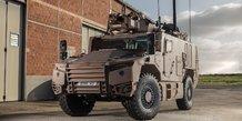 véhicules blindés Serval VBMR-L Scorpion Nexter Texelis