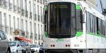 semistan ancienne rames de tramways Nantes