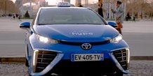 Taxi hydrogène Hype