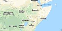 Corne de l'afrique carte
