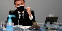France/usa: entretien telephonique entre macron et harris