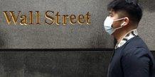 La bourse de new york en baisse a l'ouverture