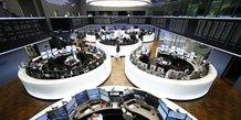 Les bourses europeennes reculent a mi-seance
