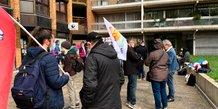 Grève au Pôle Emploi Toulouse - Occitane