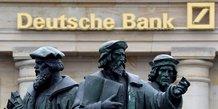 Deutsche bank renoue de facon inattendue avec un benefice net au troisieme trimestre