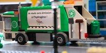 Maquette des bennes à ordures ménagères à hydrogène