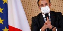 Macron appelle a tracer des lignes rouges claires avec la russie