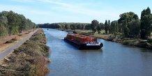 La Lys mitoyenne, un des maillons de la liaison européenne à grand gabarit Seine-Escaut et donc du futur canal Seine Nord.