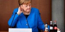 Allemagne: audition de merkel devant une commission d'enquete sur l'affaire wirecard