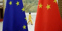 La commission europeenne ralentit les negociations sur l'accord d'investissement avec la chine