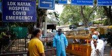 Coronavirus: plus de 1,5 million de nouveaux cas en une semaine en inde