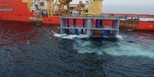 Hydrolienne marine Hydroquest